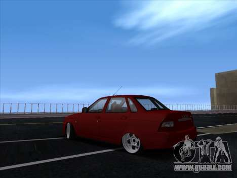 VAZ 2170 STANCE for GTA San Andreas right view