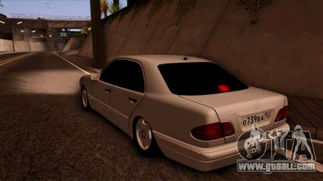 Mercedes-Benz E420 for GTA San Andreas left view