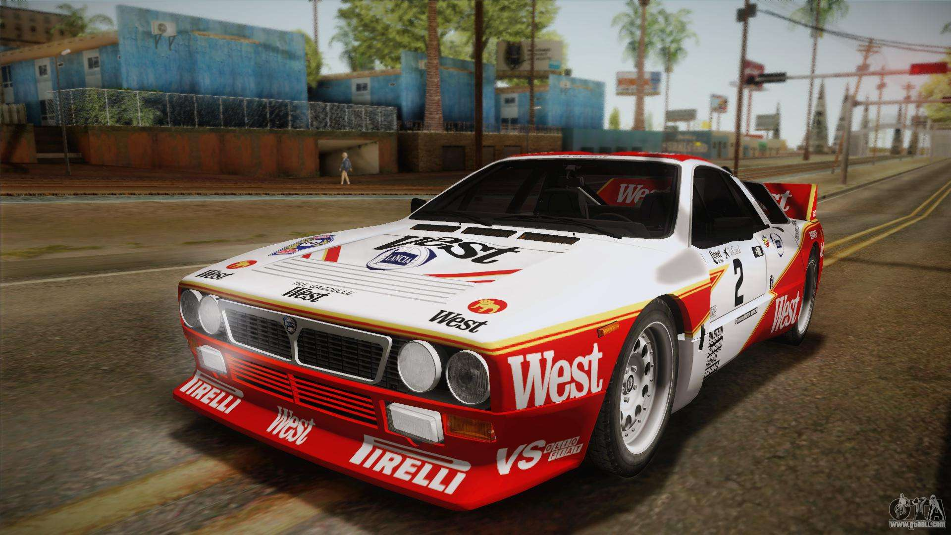 Lancia Rally 037 Stradale Se037 1982 Ivf Pj3 For Gta San