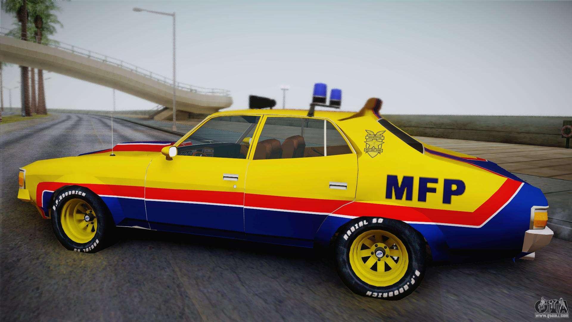 main force patrol vehicle mad max for gta san andreas. Black Bedroom Furniture Sets. Home Design Ideas