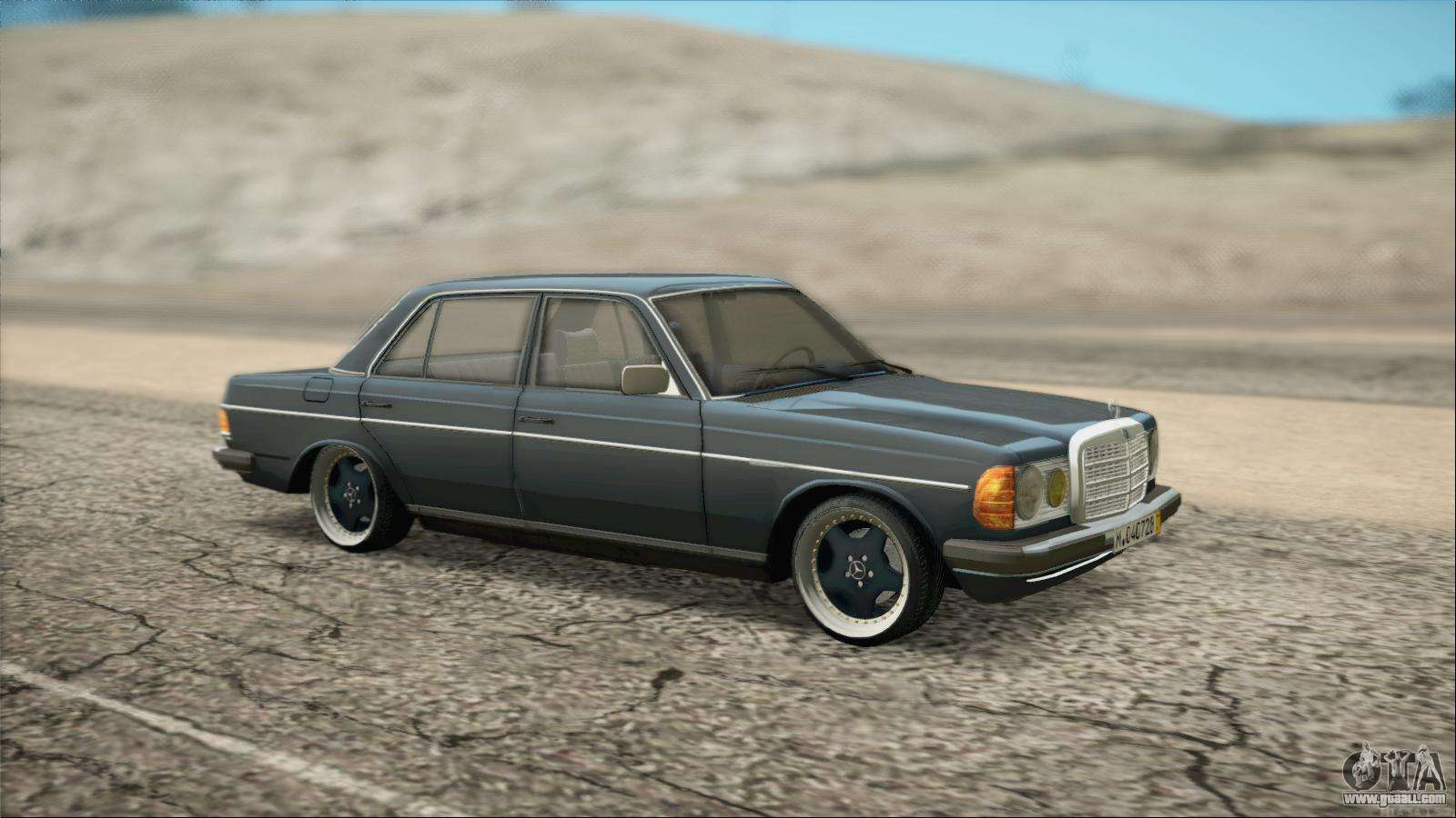 Mercedes benz 240d for gta san andreas for Mercedes benz gta