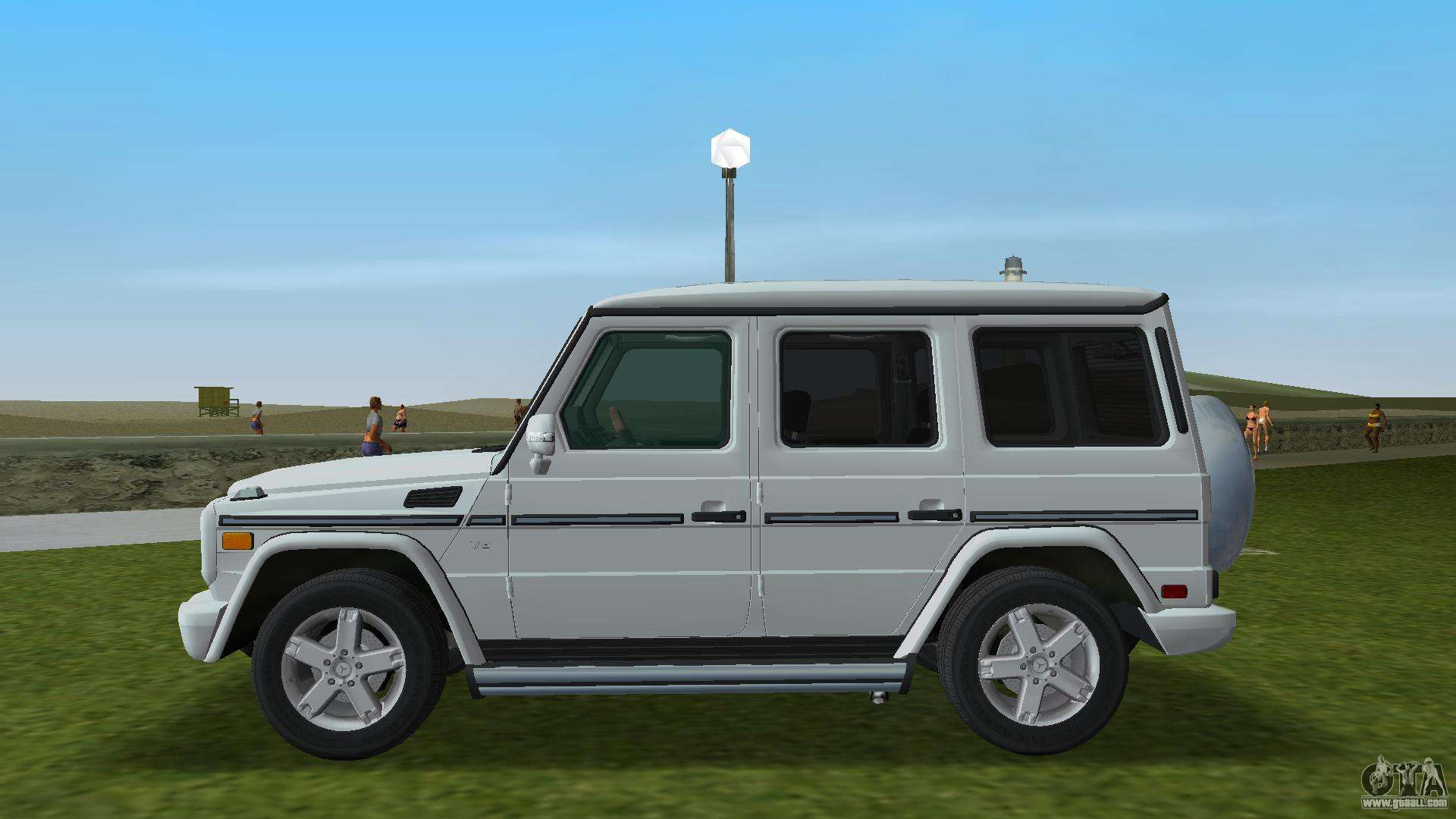 Mercedes benz g500 w463 2008 for gta vice city for Mercedes benz city