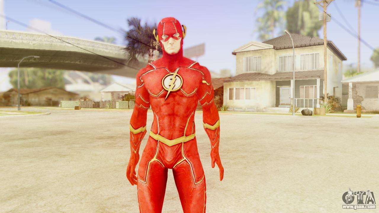 Injustice God Among Us Flash New 52 Edited Model for GTA ...