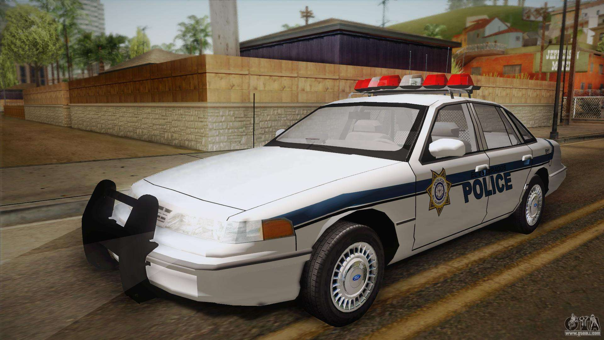 ford crown victoria 1997 el quebrados police for gta san. Black Bedroom Furniture Sets. Home Design Ideas