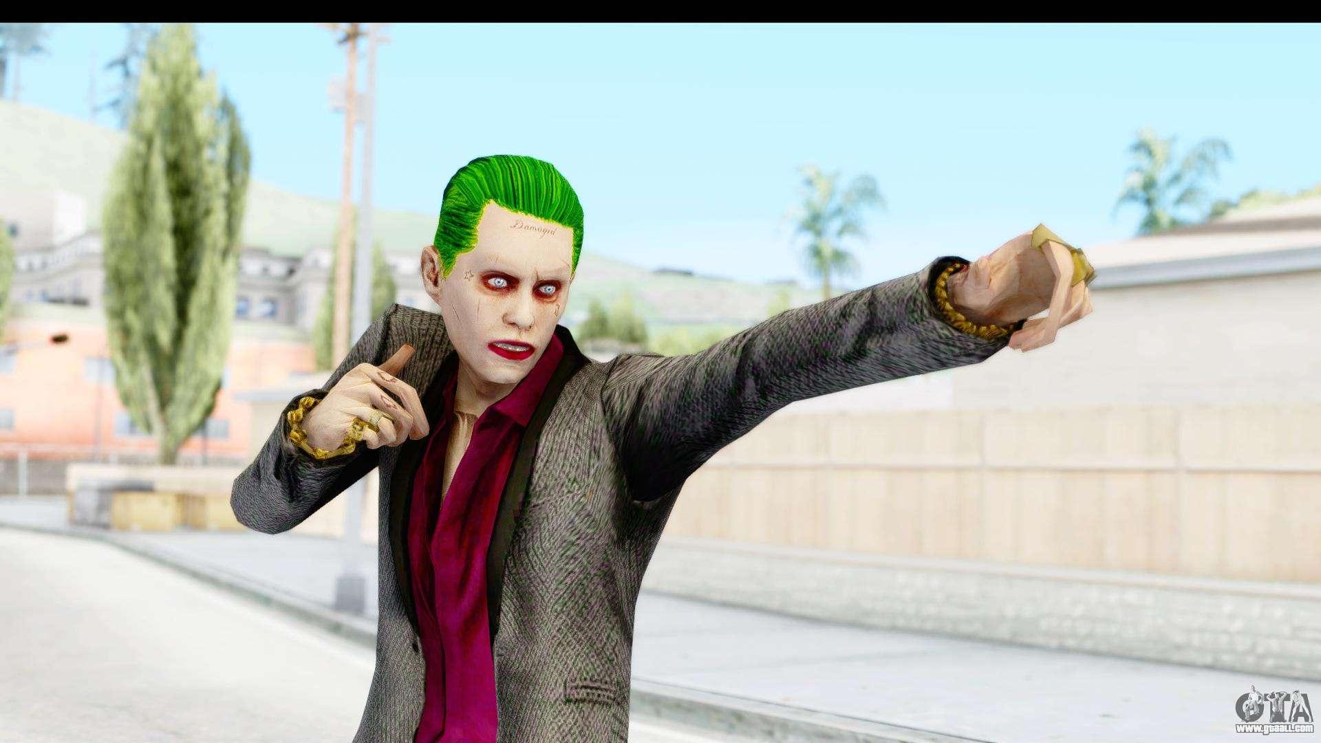 The Joker Skin for GTA San Andreas