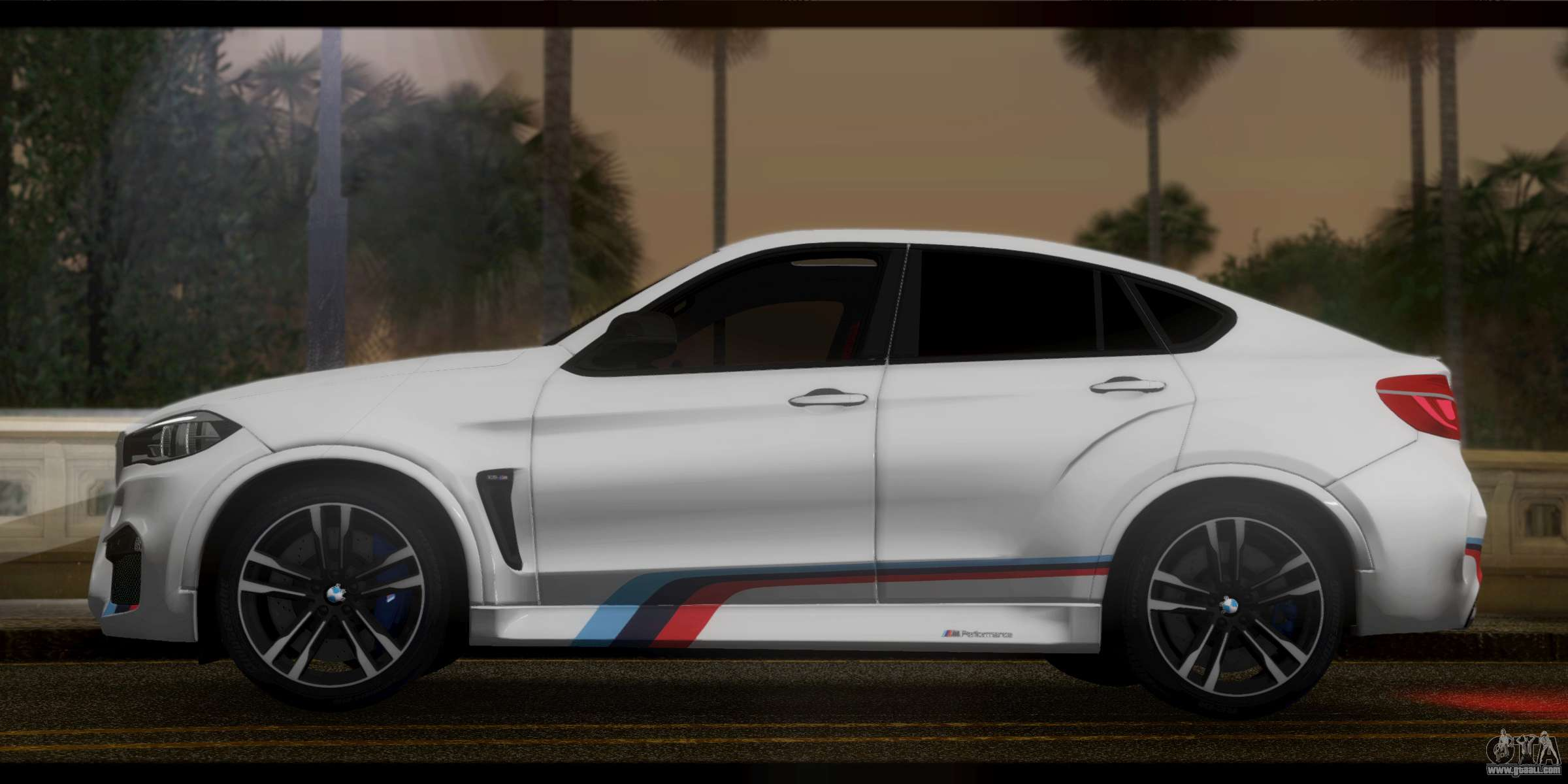 bmw x6m f86 m performance for gta san andreas. Black Bedroom Furniture Sets. Home Design Ideas