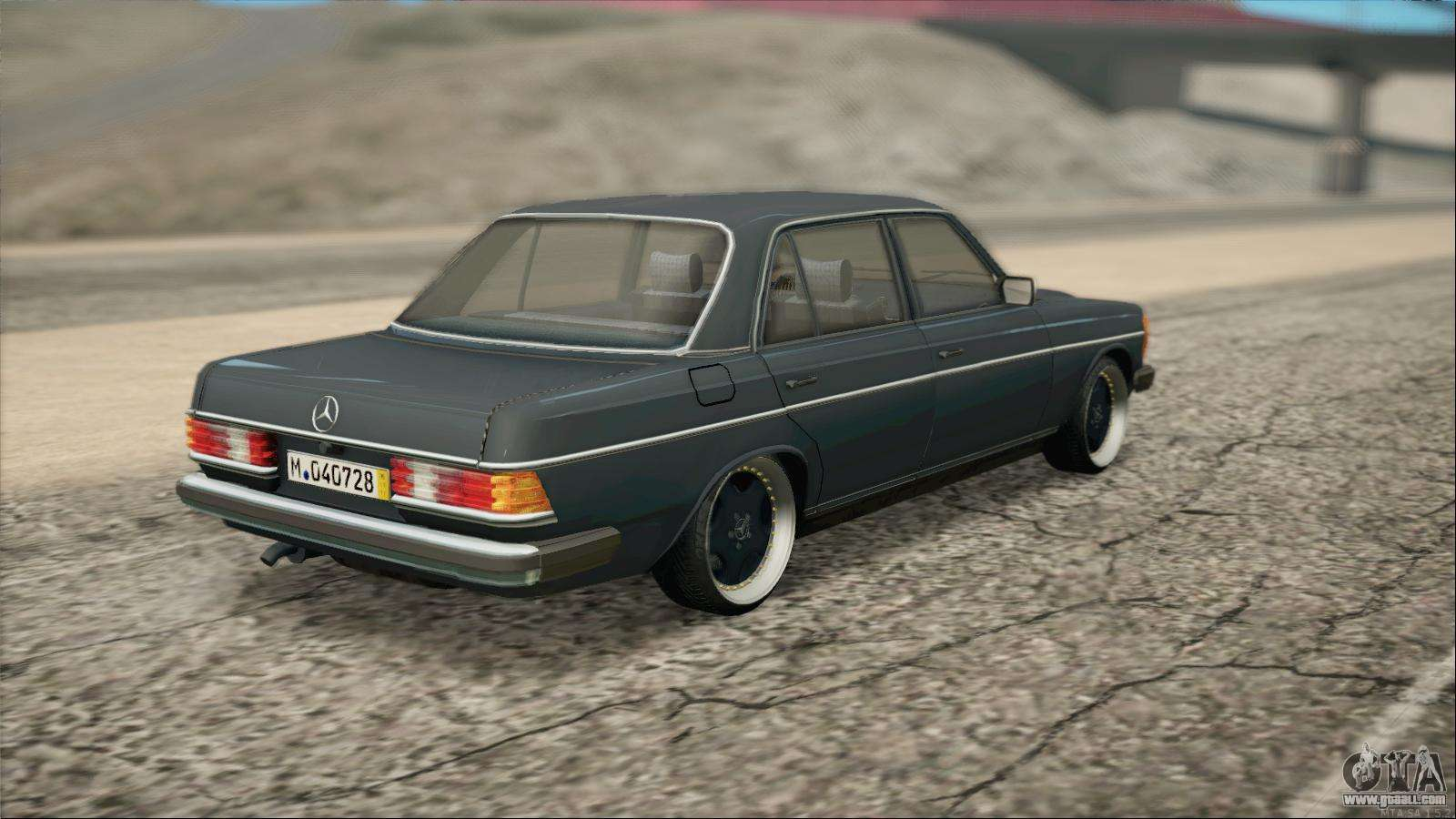 Mercedes benz 240d for gta san andreas for Mercedes benz 240 d