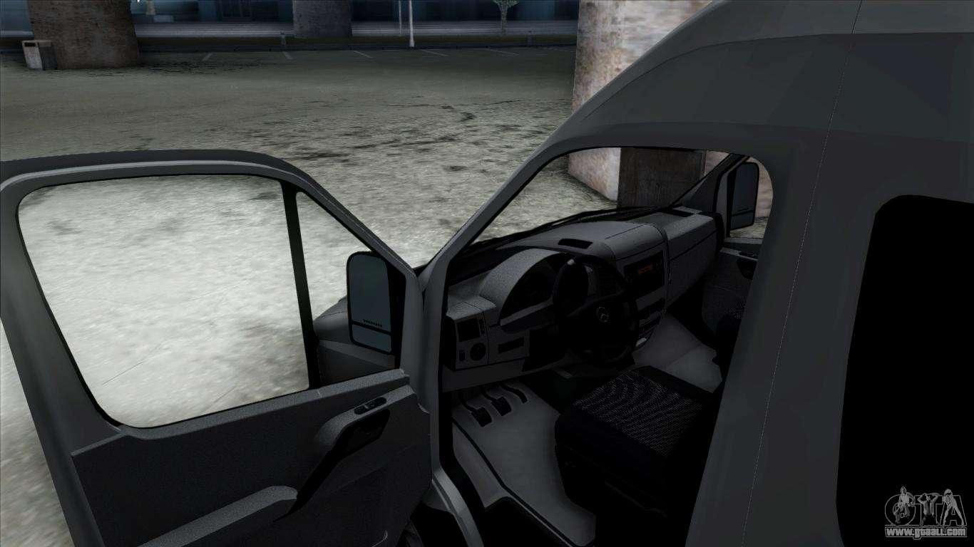 Mercedes Benz Sprinter For Gta San Andreas