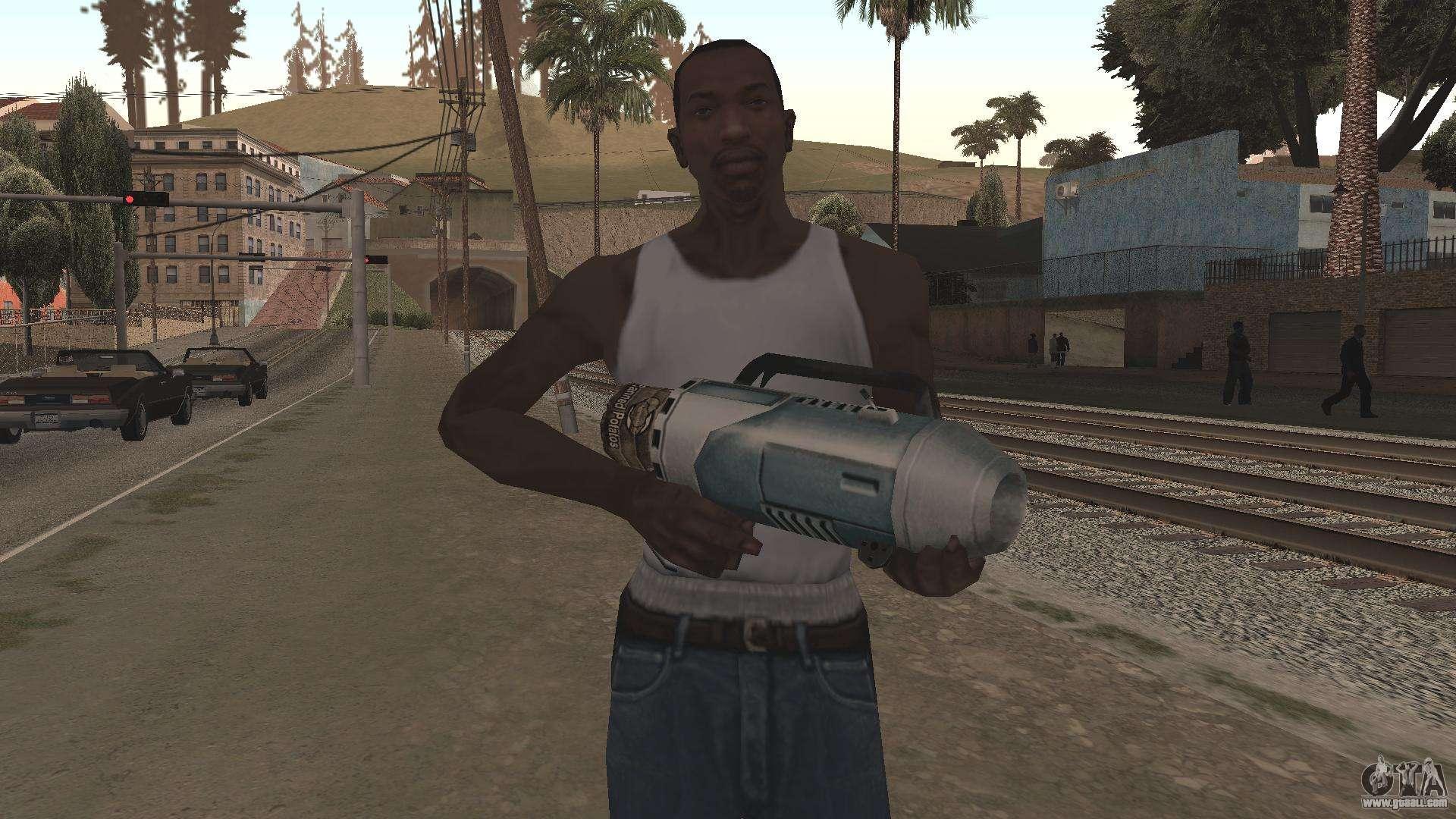 Spudgun from Bully SE for GTA San Andreas