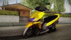 Honda Vario Yellow Shines for GTA San Andreas