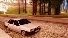 VAZ 21099 white for GTA San Andreas