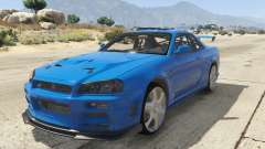 Nissan Skyline GT-R V-Spec R34 for GTA 5