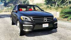 Mercedes-Benz ML63 AMG (W166) 2015 [replace] for GTA 5