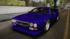 Lancia Rally 037 Stradale (SE037) 1982 IVF Dirt1 for GTA San Andreas
