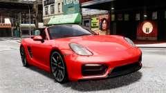 Porsche Boxster GTS 2014