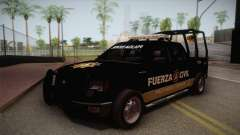 Ford F-150 de la Fuerza Civil de Nuevo Leon