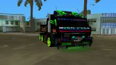 KAMAZ 65115 TUNING for GTA Vice City