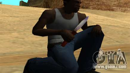 Common Knife for GTA San Andreas