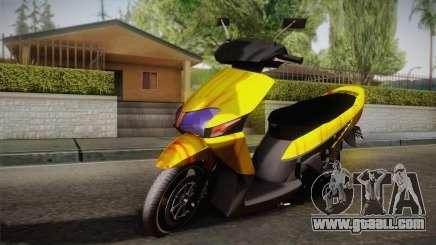 Honda Vario Yellow Shines for GTA San Andreas
