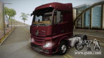 Mercedes-Benz Actros Mp4 4x2 v2.0 Bigspace v2 for GTA San Andreas