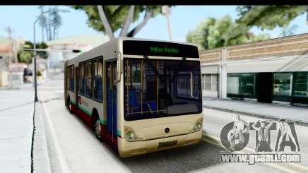 Metrobus de la Ciudad de Mexico for GTA San Andreas