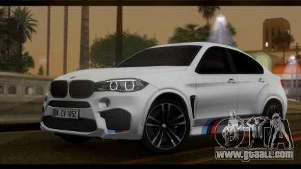 BMW X6M F86 M Performance for GTA San Andreas