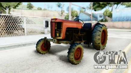 Fireflys Tractor for GTA San Andreas