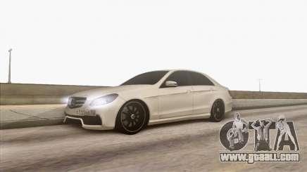 Mercedes-Benz E63 v.2 for GTA San Andreas