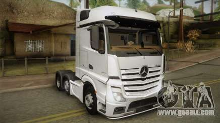 Mercedes-Benz Actros Mp4 6x2 v2.0 Bigspace v2 for GTA San Andreas