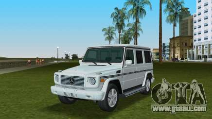 Mercedes-Benz G500 W463 2008 for GTA Vice City