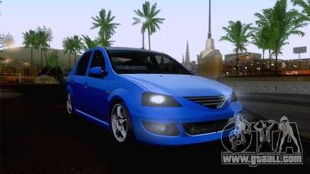 Dacia Logan Cocalar Edition for GTA San Andreas