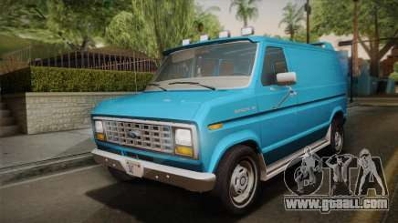 Ford E-150 Commercial Van 1982 2.0 for GTA San Andreas