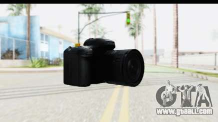Nikon D600 for GTA San Andreas