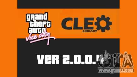 CLEO 2.0.0.4 for GTA Vice City