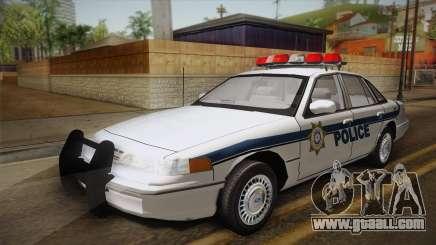 Ford Crown Victoria 1997 El Quebrados Police for GTA San Andreas