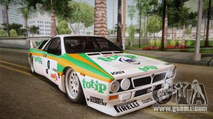 Lancia Rally 037 Stradale (SE037) 1982 IVF Dirt2 for GTA San Andreas