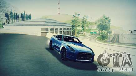 Nissan GT-R R35 Premium for GTA San Andreas