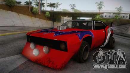 Ford Falcon 1972 Red Bat for GTA San Andreas
