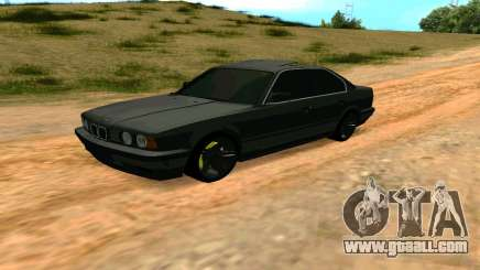 BMW 535i E34 grey for GTA San Andreas