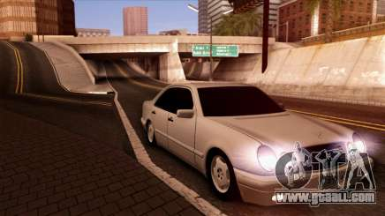 Mercedes-Benz E420 for GTA San Andreas