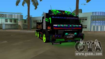 KAMAZ 65115 TUNING for GTA Vice City