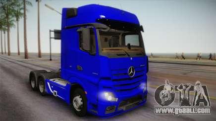 Mercedes-Benz Actros Mp4 6x4 v2.0 Gigaspace for GTA San Andreas