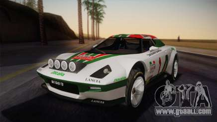 Lancia Stratos for GTA San Andreas