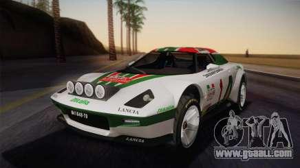 Lancia Stratos for GTA San Andreas