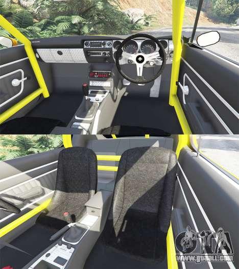 Nissan Skyline GT-R C110 Liberty Walk [add-on] for GTA 5