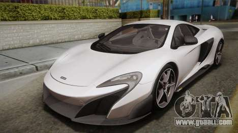 McLaren 675LT 2015 5-Spoke Wheels for GTA San Andreas
