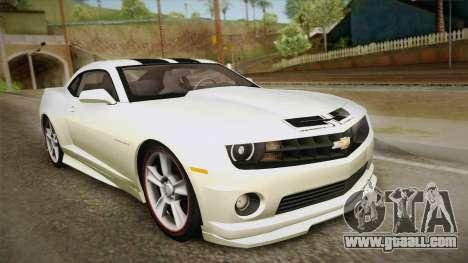 Chevrolet Camaro Synergy for GTA San Andreas