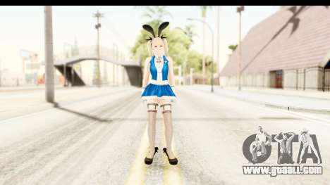 DoA 5: LR - Marie Rose Bunny for GTA San Andreas