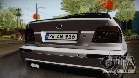 BMW M5 E39 Turbo King for GTA San Andreas right view