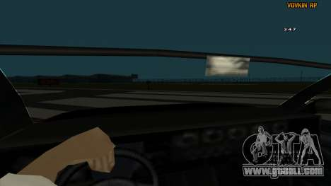Sultan Kaefoon for GTA San Andreas inner view